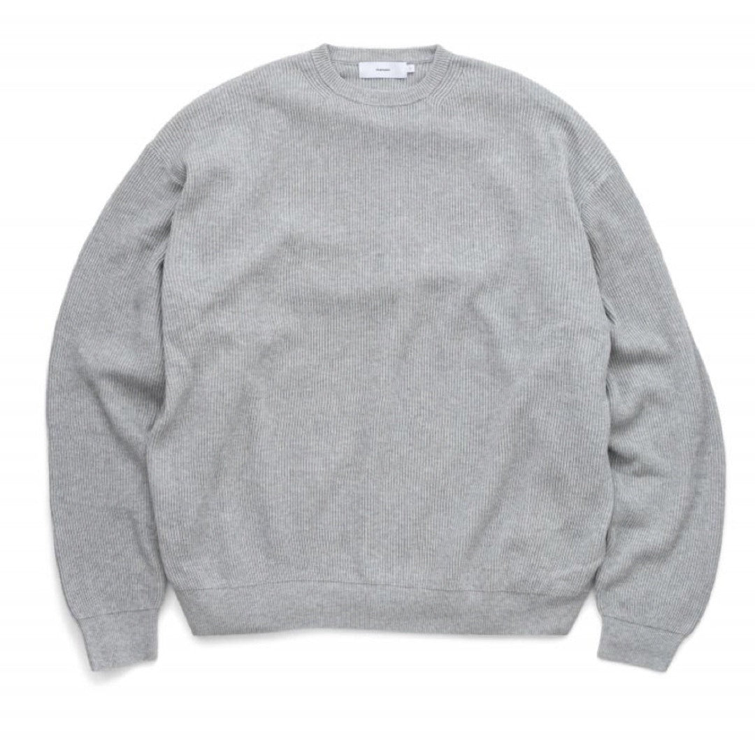 High Density Cotton Crew Neck Knit