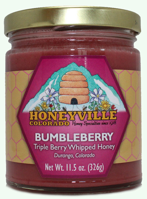 Bumbleberry Whipped Honey