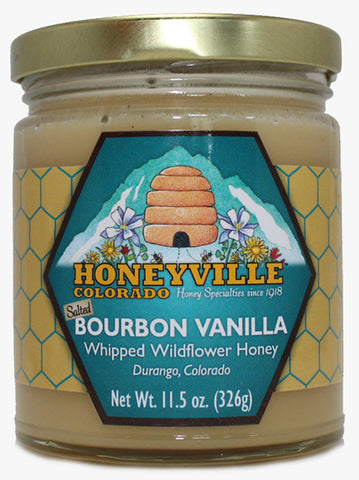 Bourbon Vanilla Whipped Honey