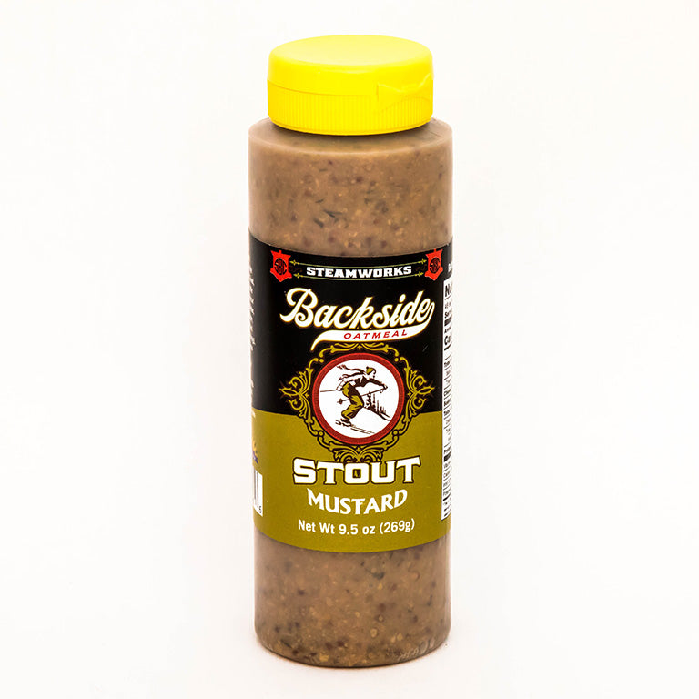 Steamworks Backside Stout Beer Mustard