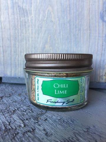 Chili Lime Finishing Salt