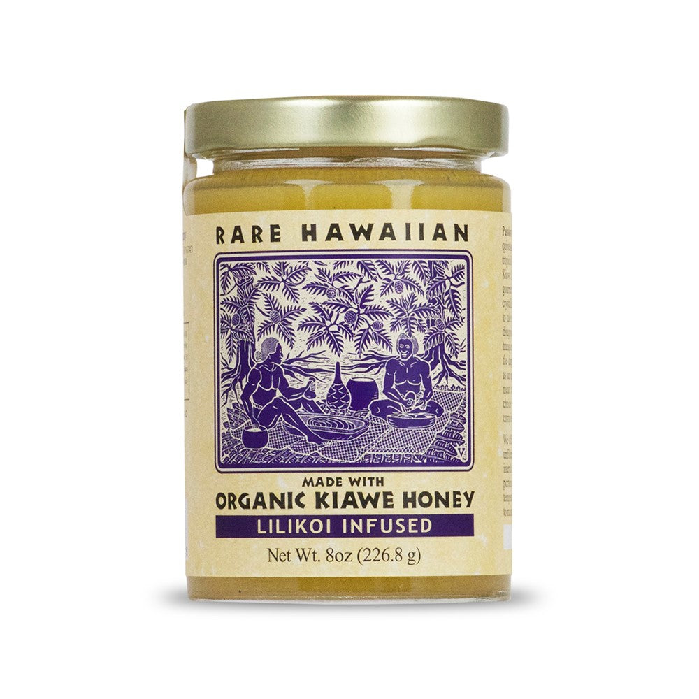 Rare Hawaiian Organic Lilikoi Honey