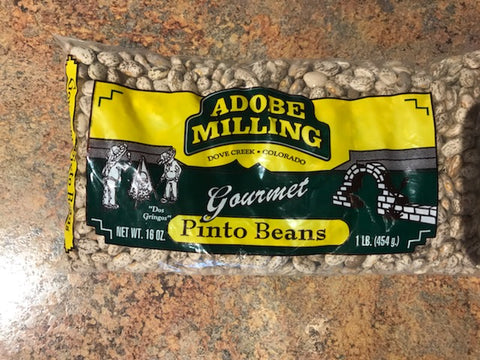 Adobe Milling Pinto Beans