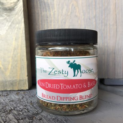 Zesty Moose Sun Dried Tomato & Basil Dipping Blend