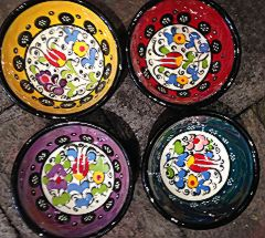 Hand Painted Turkish Dipping Bowls