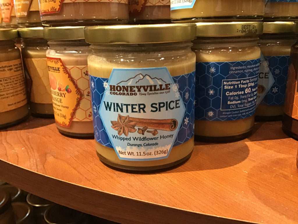 Winter Spice Whipped Honey