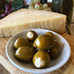 Parmesan Romano Stuffed Olives