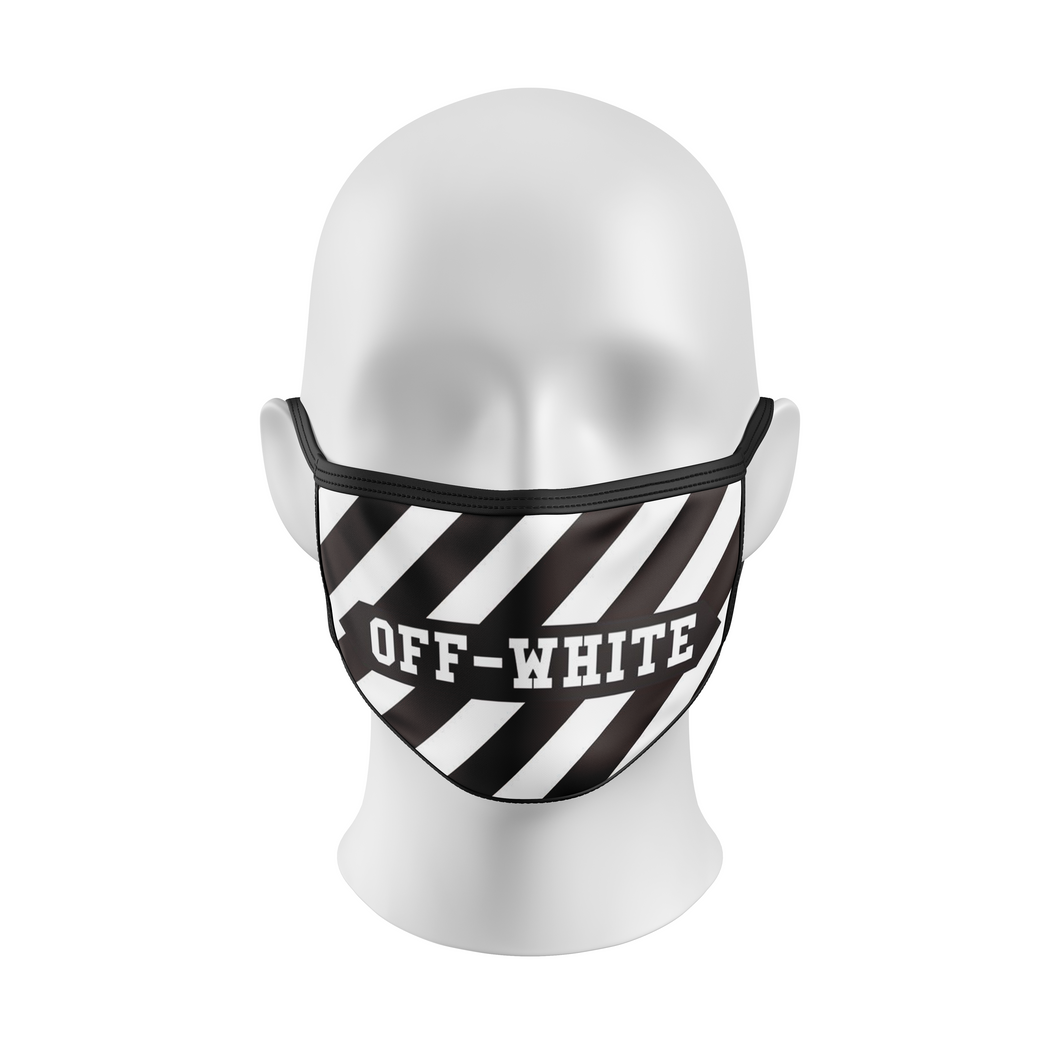 Off-White Custom Face Mask