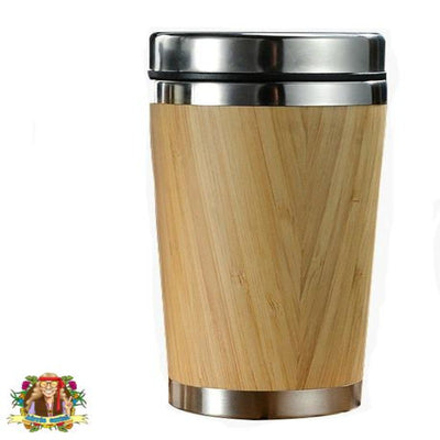 Bamboo Coffee Cup - Hippie Cartel