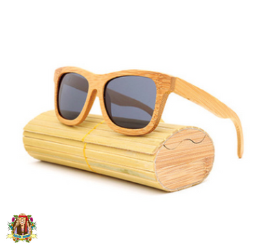 Hippie Bamboo Sunglasses - Hippie Cartel