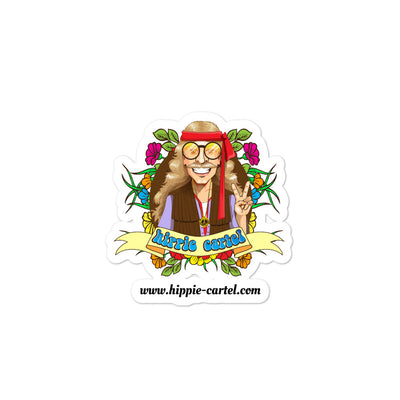 Hippie Bubble-free stickers - Hippie Cartel