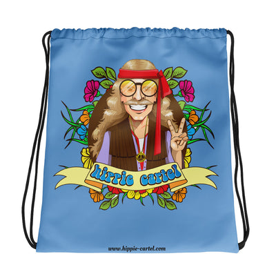 Hippie Drawstring bag - Hippie Cartel