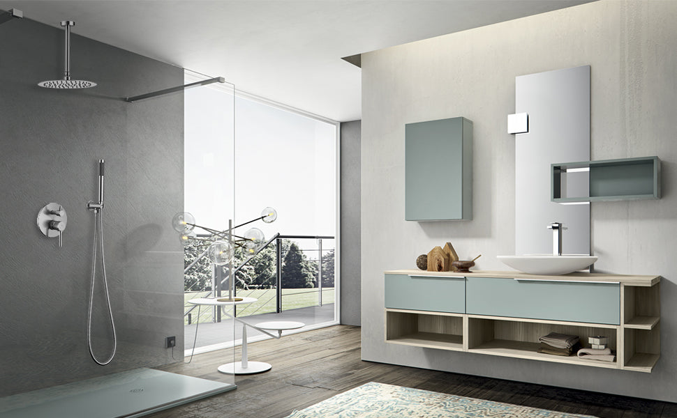 HOMELODY Ceiling Mount Shower Faucet