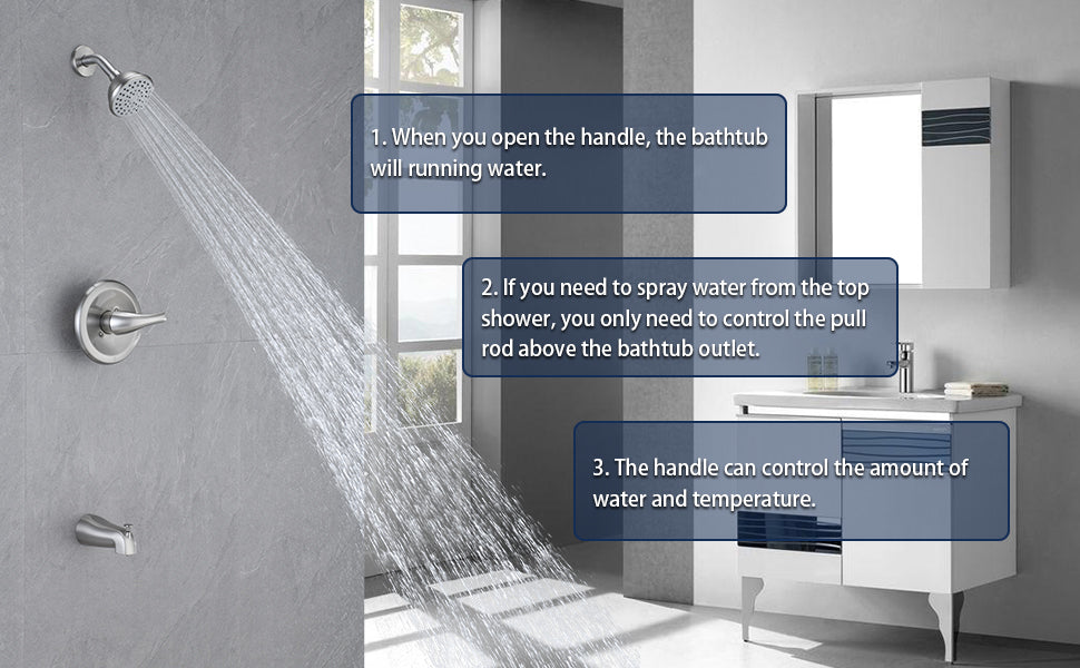 HOMELODY Pressure Balancing Shower System