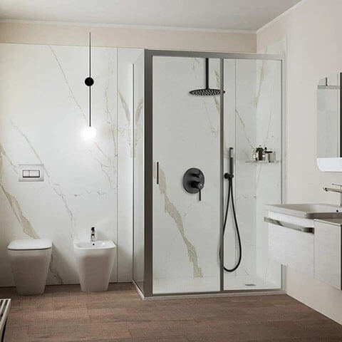 Homelody Matte Black Shower System