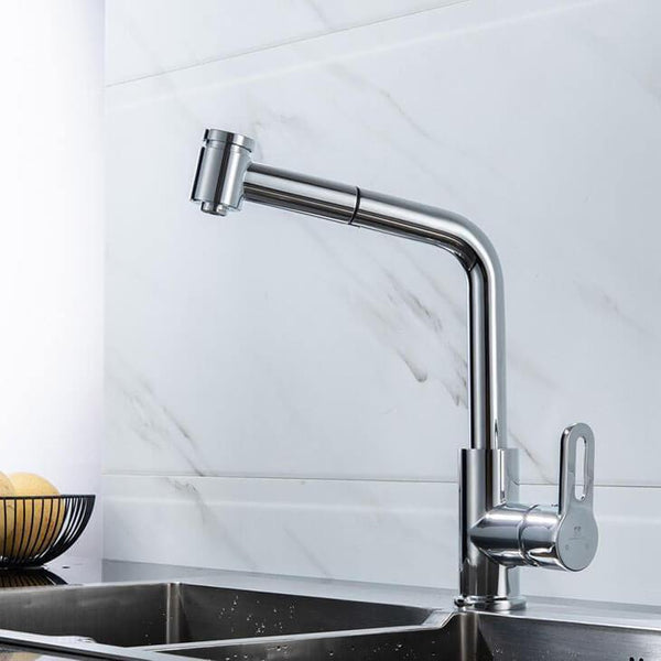 360° Rotating Homelody Kitchen Faucet with Pull-out Hand Spray Tap - Homelody