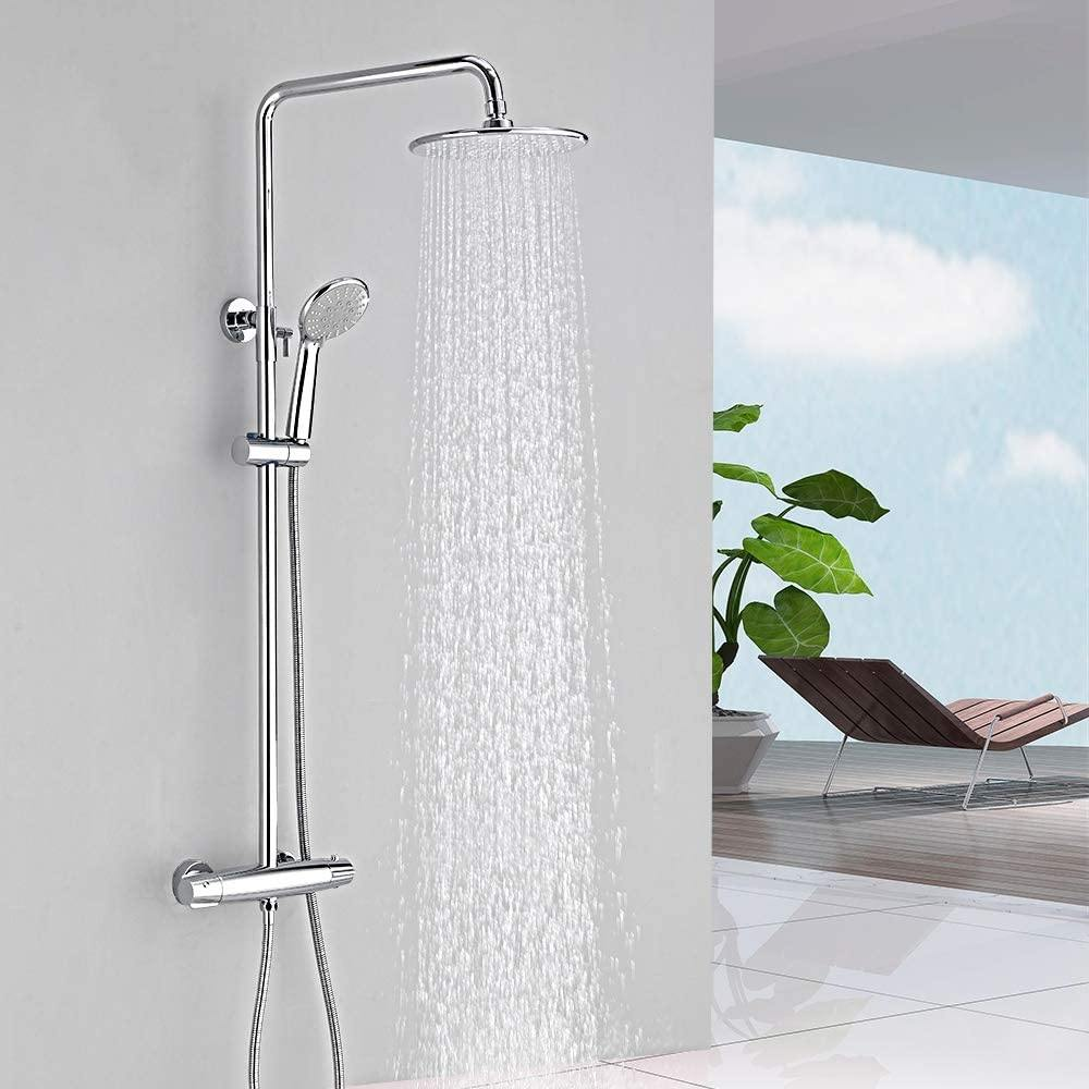 38ºC Thermostatic Shower Set