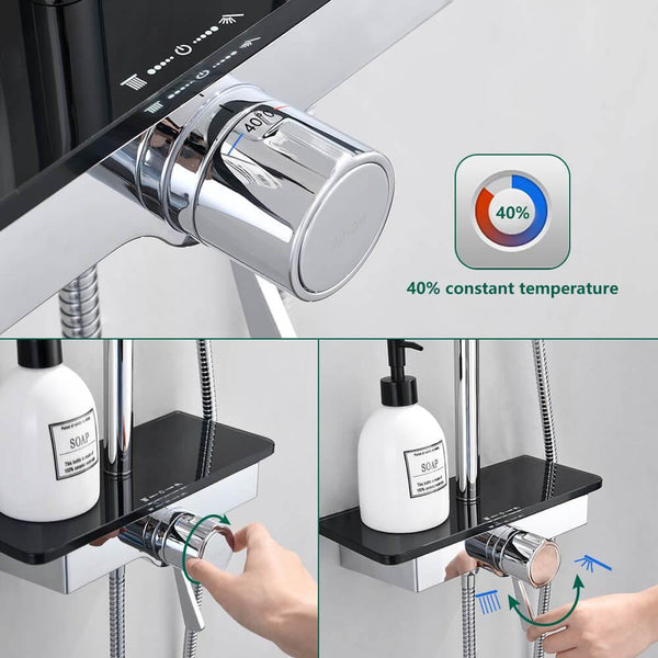 40℃ Thermostatic Shower Mixer