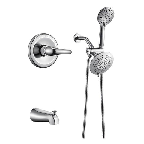 Chrome Dual Shower Head