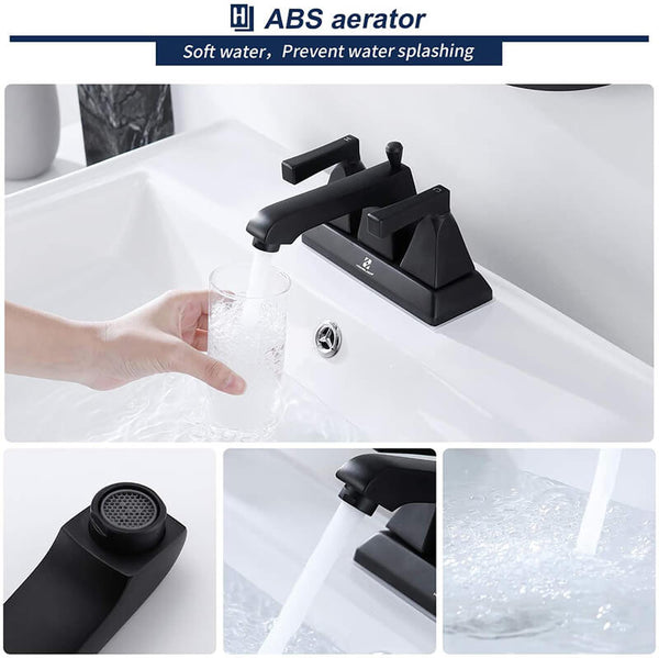 4 Inch 2 Handle Sink Faucet
