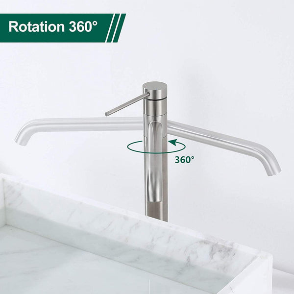 Single-Handle Vessel Sink Faucet