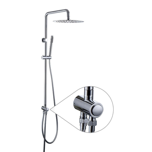 Wall mounting shower set