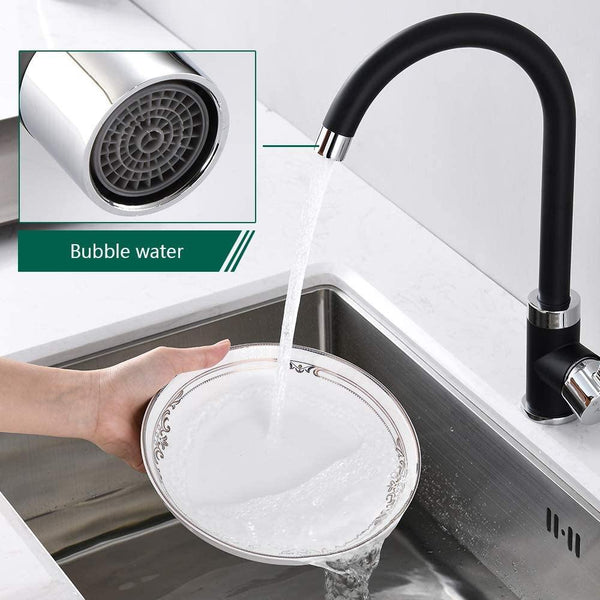 matte black kitchen faucet