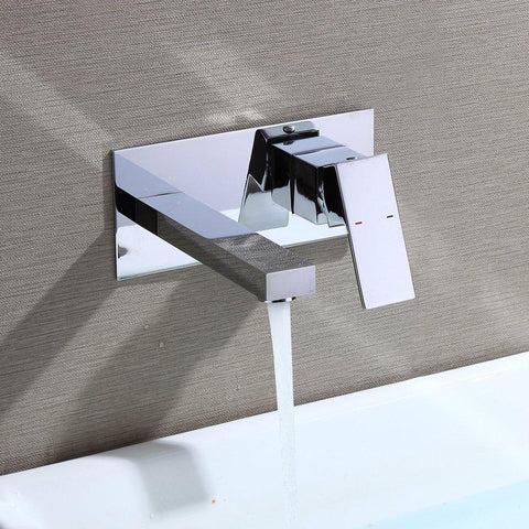 Beautiful and modern wall mounting washbasin faucet high end bathroom faucet Homelody - Homelody