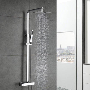 Best quality Homelody shower mixer with chrome thermostat shower sets - Homelody