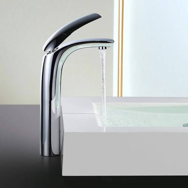 Elegant Bathroom brass Basin Mixer Homelody modern Faucet online - Homelody