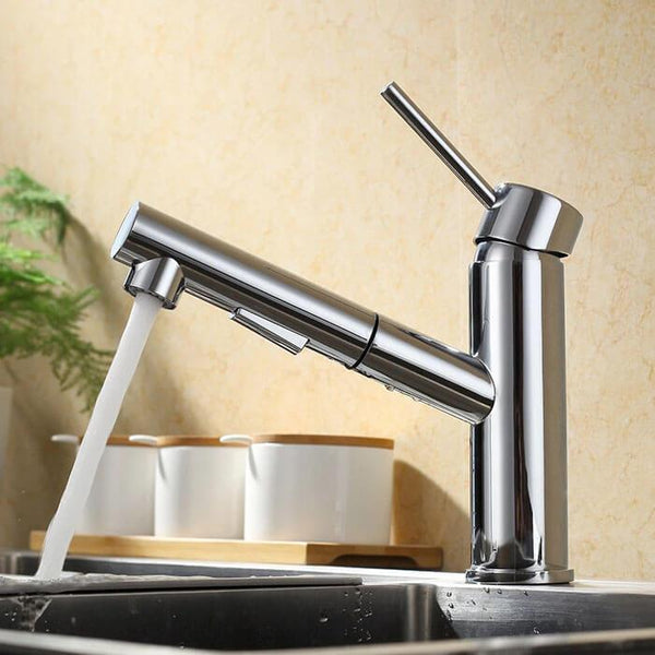 High quality Homelody Brass Pull-out Kitchen Faucet cheap for kitchen Sink - Homelody