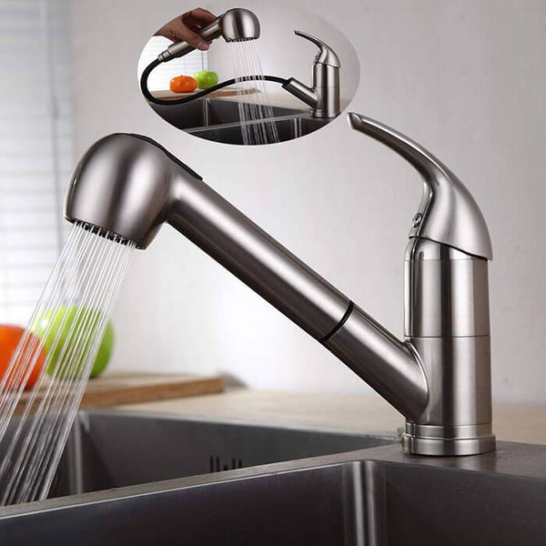 Homelody 2 Functions 120 ° Swivel Removable Kitchen Faucet - Homelody