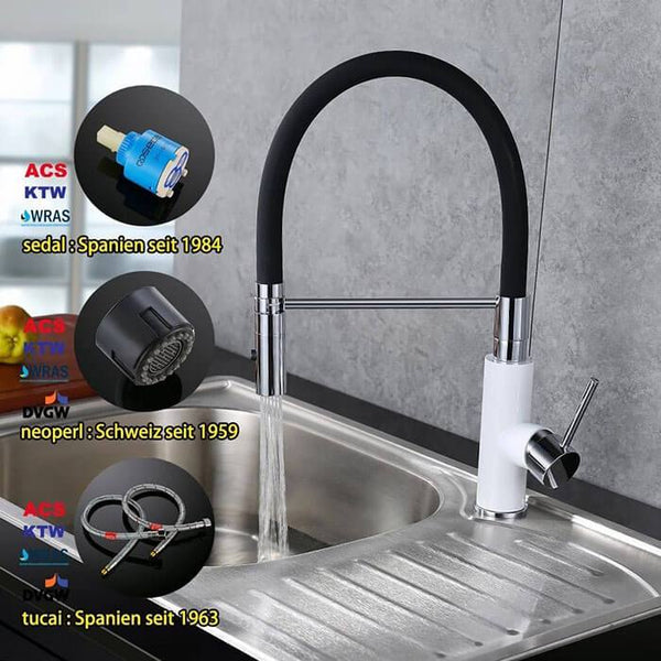 HOMELODY 2 functions 360 ° removable kitchen faucet - Homelody