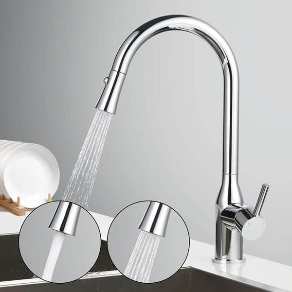 HOMELODY 2 functions 360 ° Swivel Pull-out Kitchen Faucet - Homelody