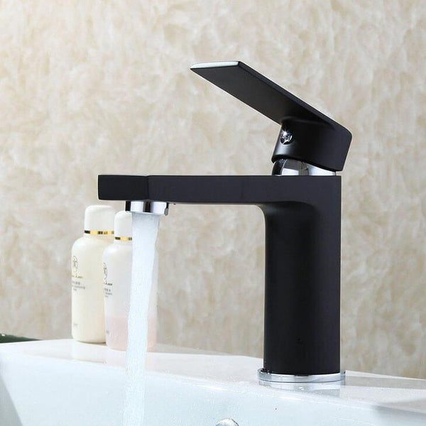 Homelody Black Bathroom Basin Mixer Faucet - Homelody