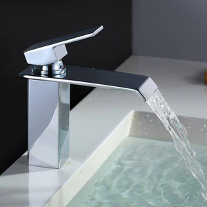Homelody Brass Bathroom Basin Waterfall Faucet - Homelody