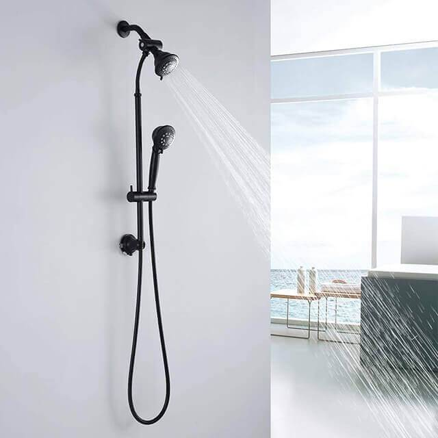 HOMELODY Oil Rubbed Bronze Dual Shower Heads Set - Homelody