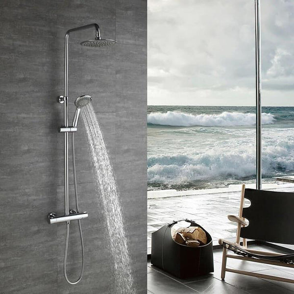 Homelody Shower Column Multi-shower mode thermostatic shower system with Mixer - Homelody