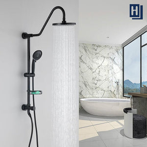 "Homelody Shower System with 8"" Rain Showerhead, Oil Rubbed Bronze - Homelody"