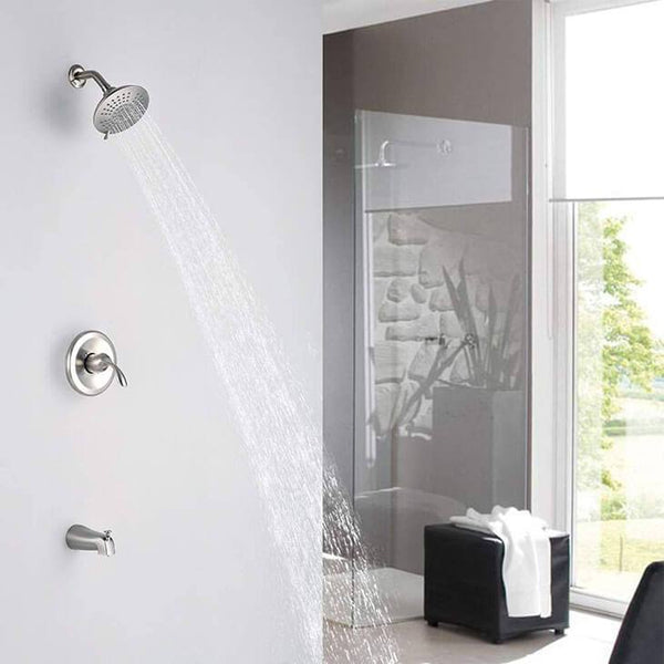 HOMELODY Shower Trim Kit with 5-Spray Shower Head (Valve Included) - Homelody