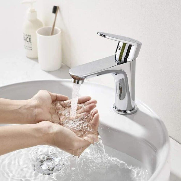 Homelody Single-Lever Bath Fittings Single Lever Basin Mixer Tap for Bathroom - Homelody