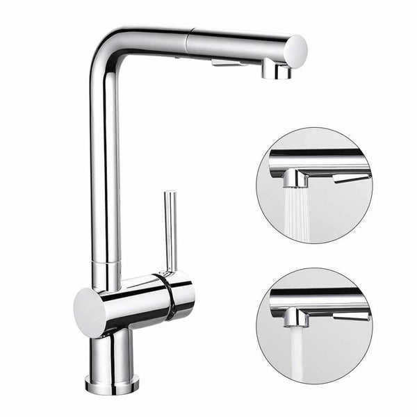 pull-out kitchen mixer tap