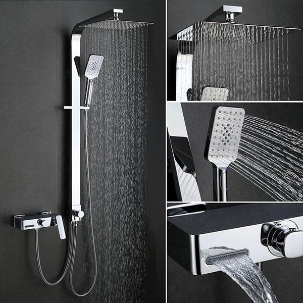 separable shower system