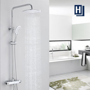 thermostatic shower system
