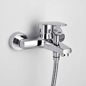 Wall mounting shower mixer Homelody single-lever shower mixer High quality brass-chrome - Homelody