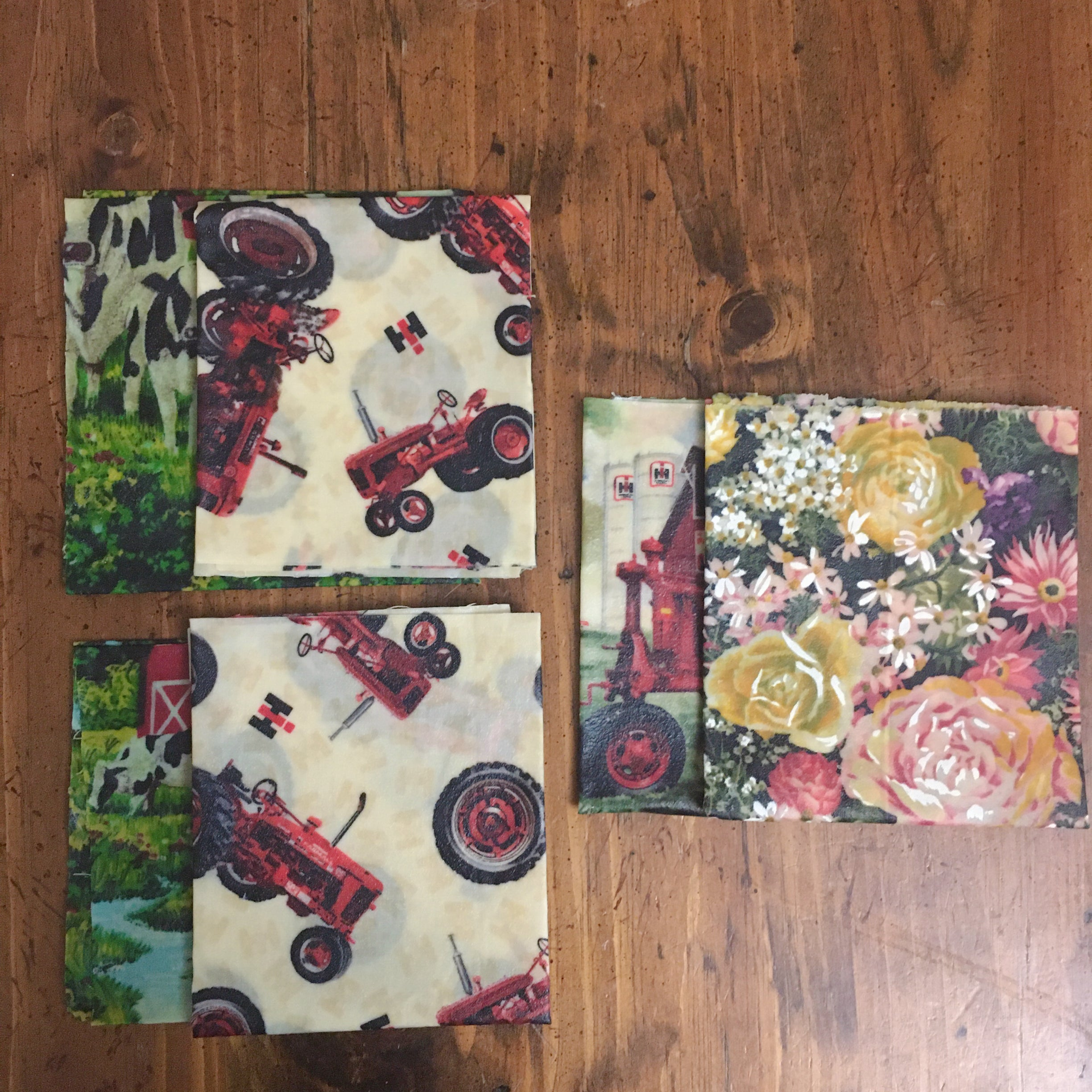 Beeswax Wrap Set of 2 (L,L)
