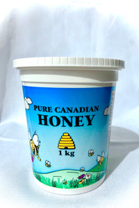 Naturally Creamed Honey - 1kg
