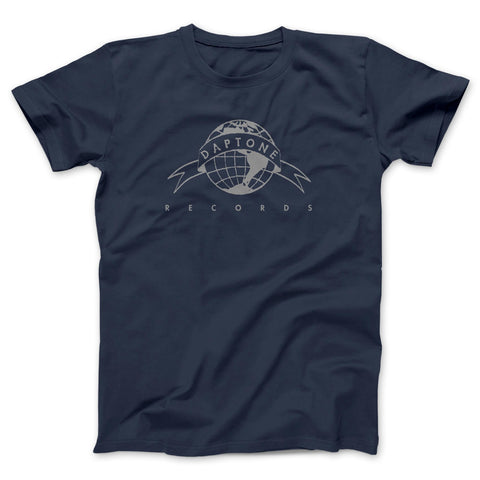 Navy Blue Daptone Records Logo Tee - daptonerecords