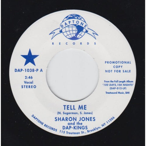 "Sharon Jones & the Dap-Kings - ""Tell Me (Stereo & Mono)"""
