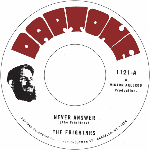 The Frightnrs - Never Answer / Questions